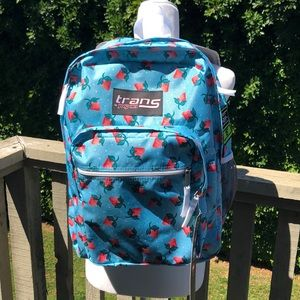 JanSport's Trans backpack strawberry